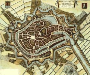 Plattegrond Middelburg