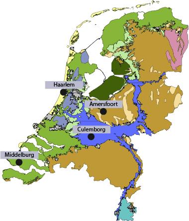 landschapstypen in Nederland