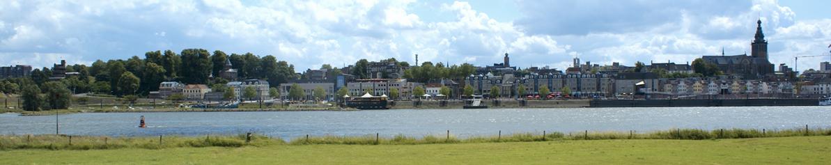 uitzicht op Nijmegen